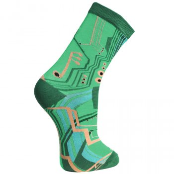 Circuit Board Socks - UK7-11