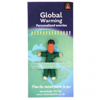 Global Warming Worry Doll