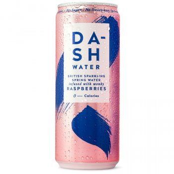 Dash Water Sparkling Raspberry Multipack - 4 x 330ml