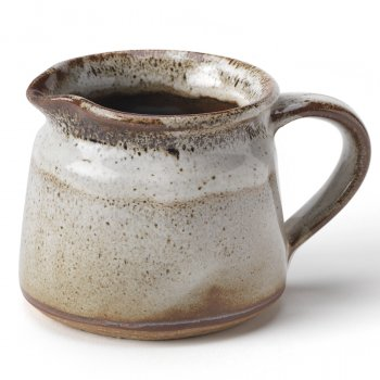 Handmade Ceramic Speckled Jug - White