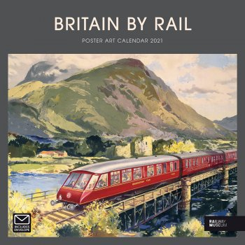 Britain by Rail 2021 Wall Calendar