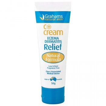 Grahams Natural C  Cream for Eczema & Dermatitis - 50g