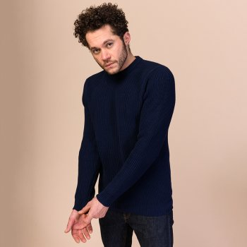 Melawear Ravi Knit Jumper - Navy