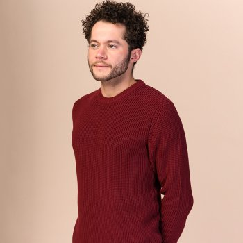 Melawear Ravi Knit Jumper - Burgundy Red