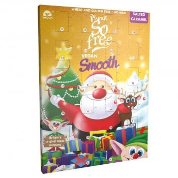 Plamil So free Milk Alternative Salted Caramel Chocolate Advent Calender - 110g