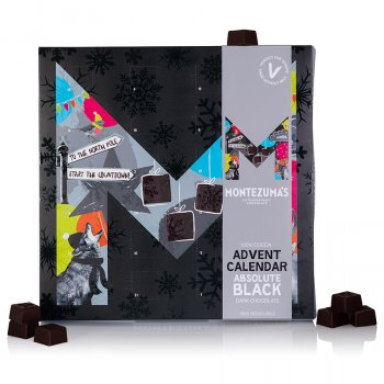 Montezumas Absolute Black Chocolate Advent Calendar - 240g