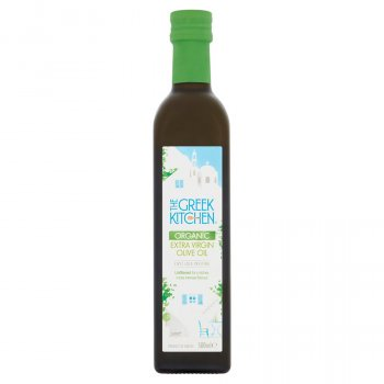 The Greek Kitchen Organic Unfiltered Extra Virgin Olive Oil - 500ml