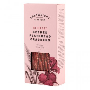 Cartwright & Butler Beetroot Flatbreads - 130g