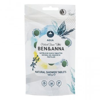 Ben & Anna Shower Gel Tablets Aqua - 120g