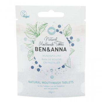 Ben & Anna Mouthwash Tablets - 40g
