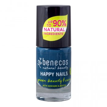 Benecos Nail Polish - Nordic Blue - 5ml
