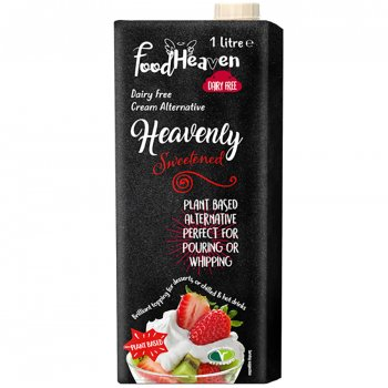 Food Heaven Dairy Free Cream Alternative - Sweetened 1L