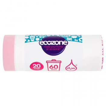 Ecozone Biodegradable Bin Liners - 60L