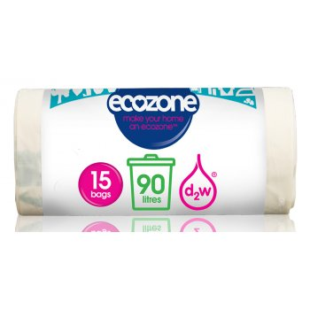 Ecozone Biodegradable Bin Liners - 90L