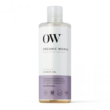 Organic Works Lavender Shower Gel - 300ml