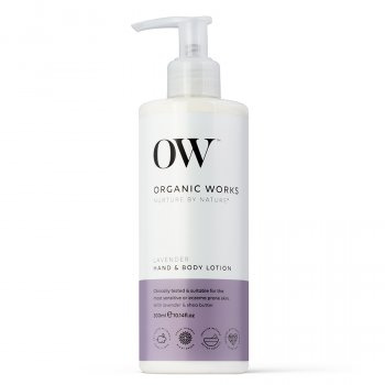 Organic Works Lavender Hand & Body Lotion - 300ml