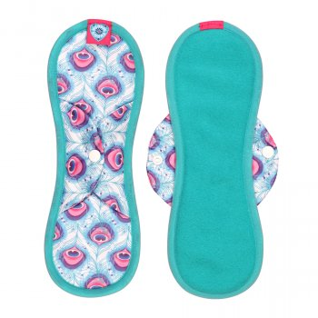 Bloom & Nora Reusable Bamboo Bloom Pad - Maxi - Lush