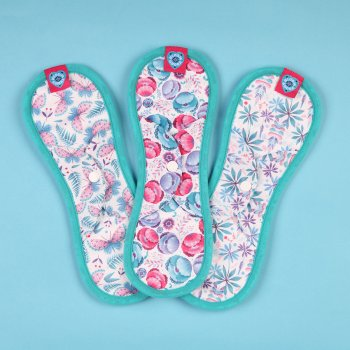 Bloom & Nora Reusable Nora Pads - Maxi - Pack of 3