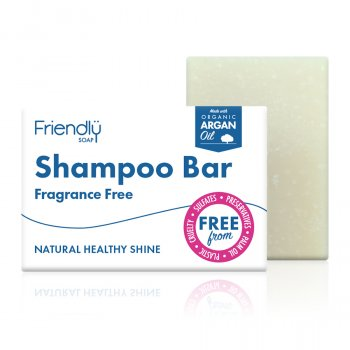 Friendly Soap Fragrance Free Shampoo Bar -95g
