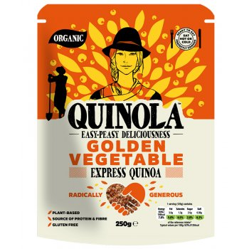 Quinola Organic Golden Vegetable Express Quinoa - 250g