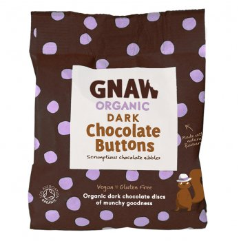 Gnaw Organic Handcrafted Buttons - Dark 125g
