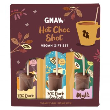 Gnaw Organic Hot Choc Shot Gift Set - 150g