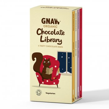 Gnaw Organic Chocolate Library - 400g