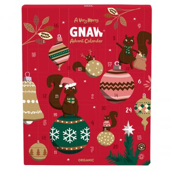 Gnaw Organic Very Merry Advent Calendar - 192g