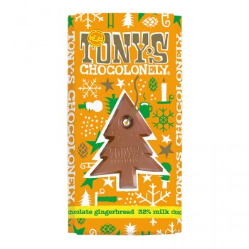 Tonys Chocolonely Milk Chocolate with Gingerbread - 180g