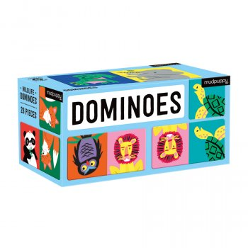 Mudpuppy Wildlife Dominoes