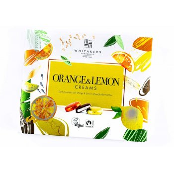 Whitakers Foiled Orange & Lemon Creams - 200g