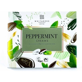 Whitakers Foiled Peppermint Creams - 200g