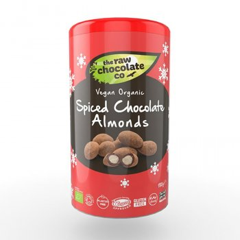 The Raw Chocolate Company Spiced Chocolate Almonds - 180g