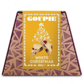 Goupie White Christmas Chocolates - 160g