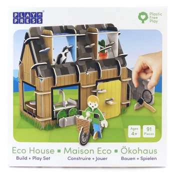 Play Press Toys Eco House Playset