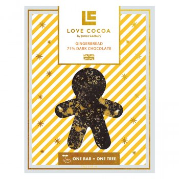 Love Cocoa Gingerbread Chocolate Bar - 75g