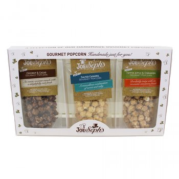 Joe & Sephs Vegan Gourmet Popcorn Gift Set