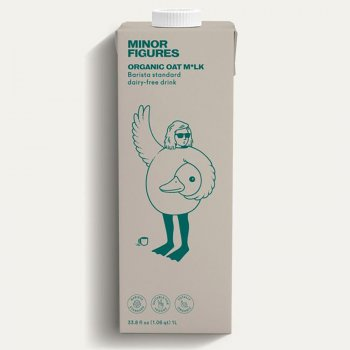 Minor Figures Organic Oat M*lk - Foamable - 1L