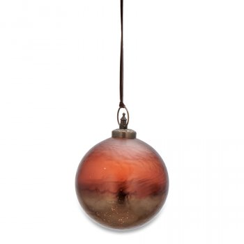 Nari Antique Rust Bauble - Small