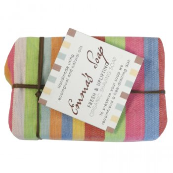 Emmas Soap Fresh & Uplifting Shaving Soap Bar