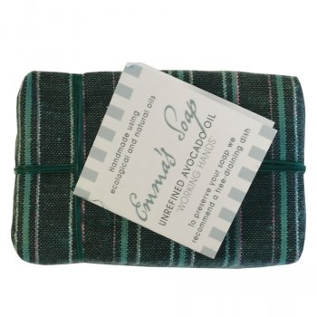 Emmas Soap Avocado Oil Gardeners Soap Bar