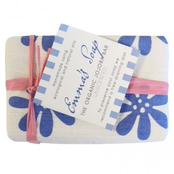 Emmas Soap Organic Jojoba Unscented Soap Bar