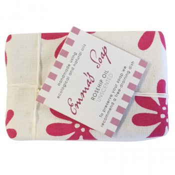 Emmas Soap Rosehip Oil Unscented Soap Bar