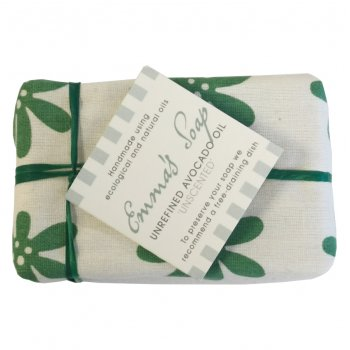 Emmas Soap Avocado Oil Unscented Soap Bar