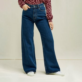People Tree Flora Wide Leg Jeans