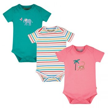 Frugi Super Special Animal 3 Pack Body
