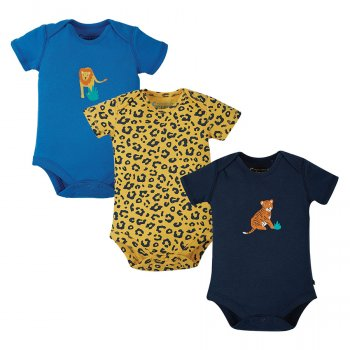 Frugi Super Special Big Cats 3 Pack Body