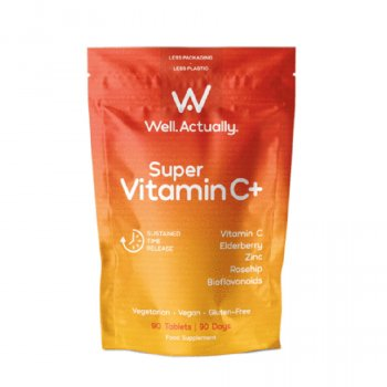 Well Actually Super Vitamin C  - 90 Tablets