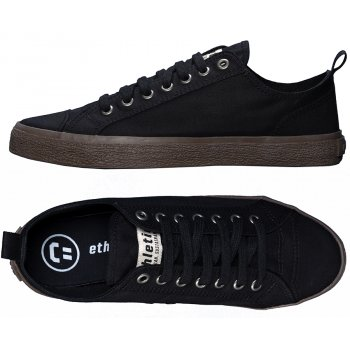 Ethletic Fairtrade Goto Lo Sneaker - Jet Black