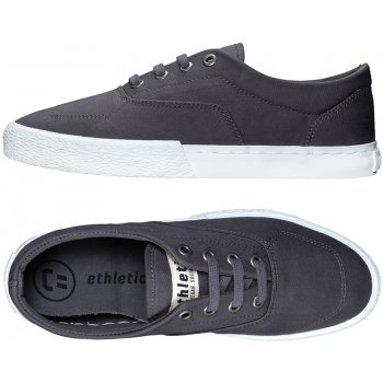 Ethletic Fairtrade Randall Sneaker - Pewter Grey